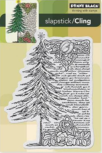 Tree Story Cling Stamp