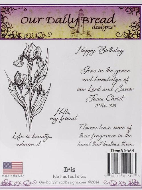 Iris Stamp Set