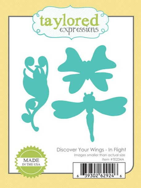 Discover Your Wings In Flight Die Set