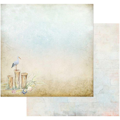 Sand and Sea In the Bluff Cardstock