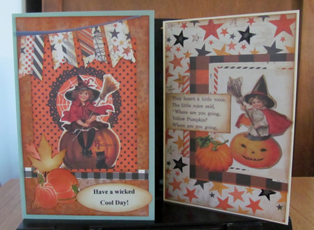 Simple Halloween Cards