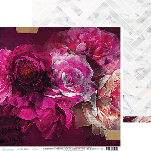 Hawthorne Flourish Cardstock