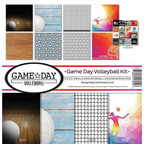 Game Day Volleyball 12x12 Kit