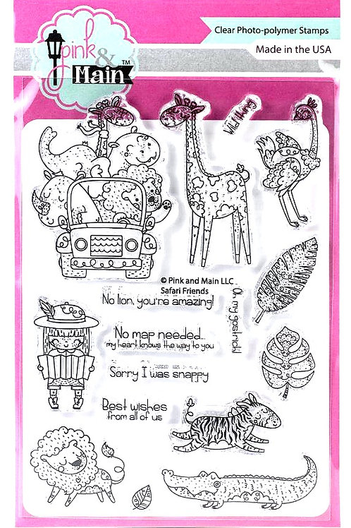 Wild Thing Clear Stamp Set