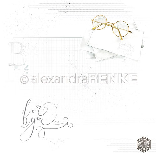 Midori Glasses Cardstock