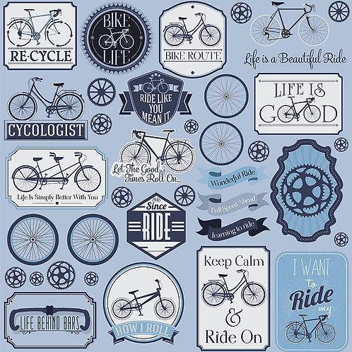 Bike Life Die Cut Stickers