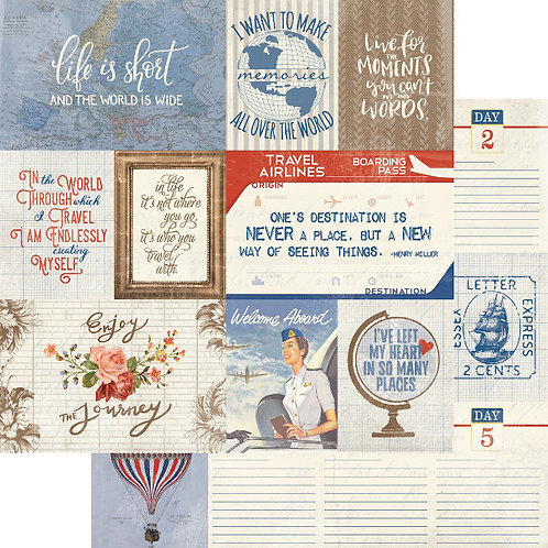 Quest 8 Journaling Cards Cardstock