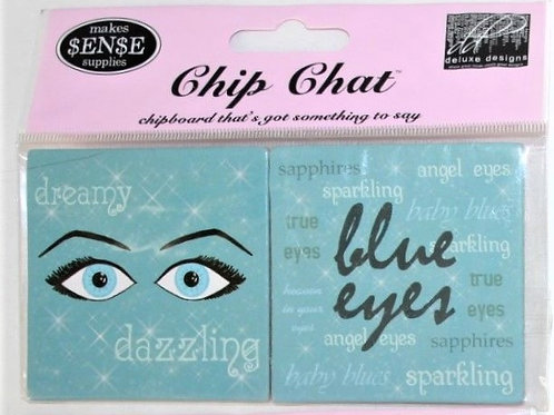 Chip Chat Blue Eyes Accents