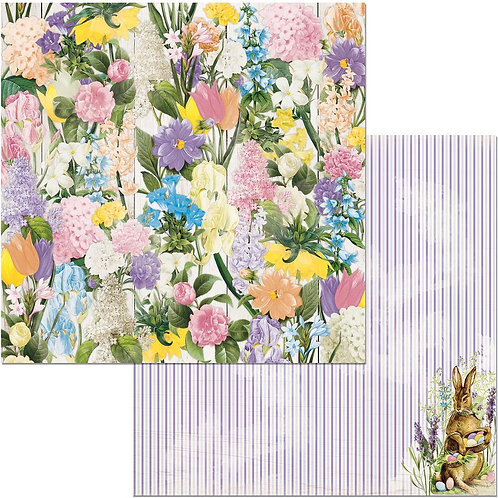 Cottontail Flowers Cardstock