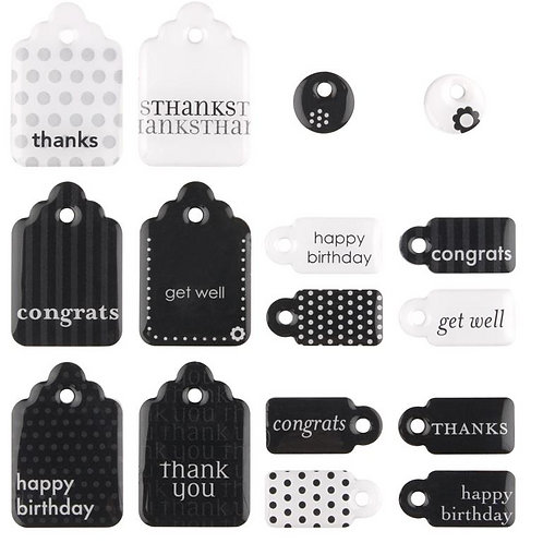 Sweets, Card Saying Tags