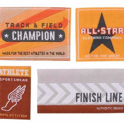 Track & Field Labels