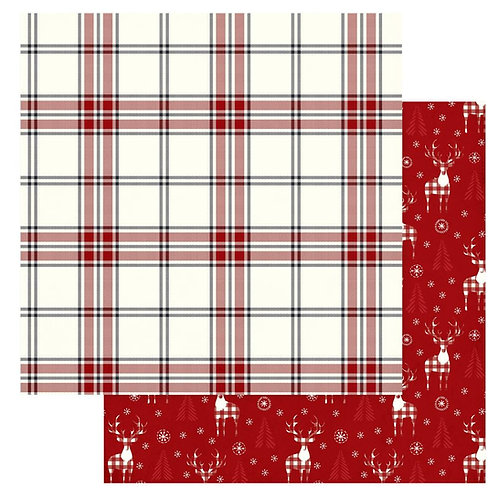 Christmas Cheer Cozy Christmas Cardstock