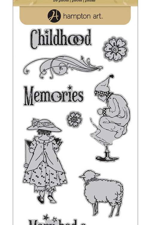 Mother Goose Cling Stamps #2