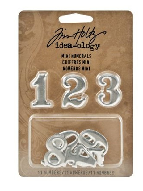 Tim Holtz Mini Numerals