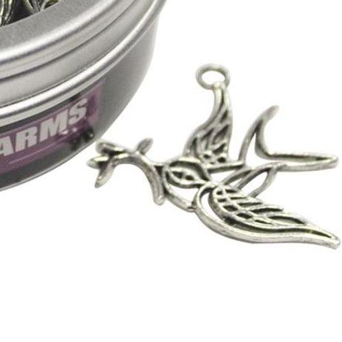 Filigree Bird Charm