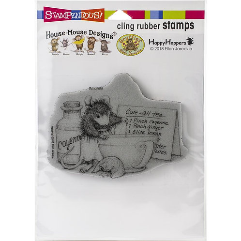 Cure All Tea Cling Rubber Stamp
