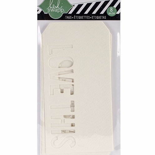 Heidi Swapp Mixed Media Tags