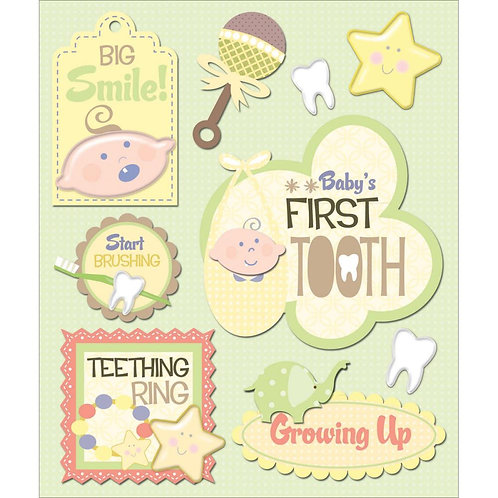 Baby's First Tooth Sticker Medley