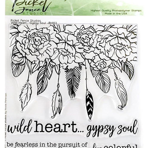 Wild Heart Gypsy Soul Stamp Set