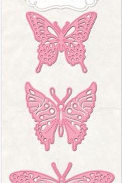 BoBunny Flutter Die Set