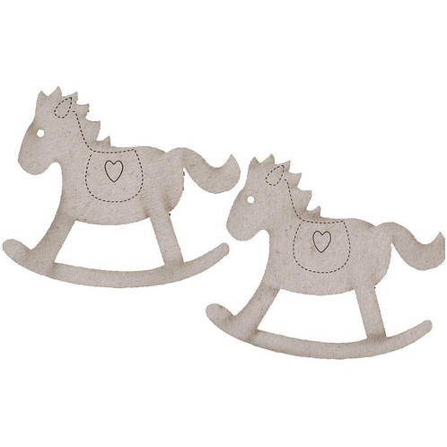 Chipboard Rocking Horses