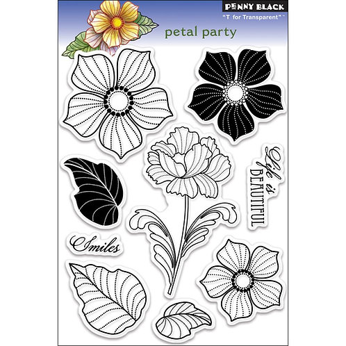 Petal Party Clear Stamp Set