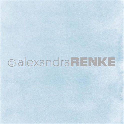 Light Blue Watercolor Alexandra Renke Design Paper