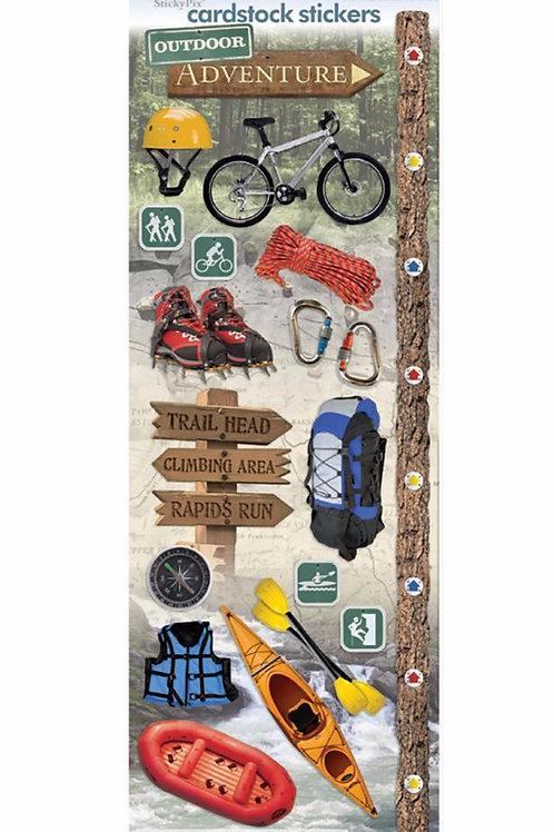 Outdoor Adventure Sticker Sheet