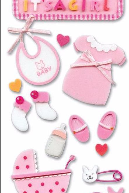 Baby Foam Stickers