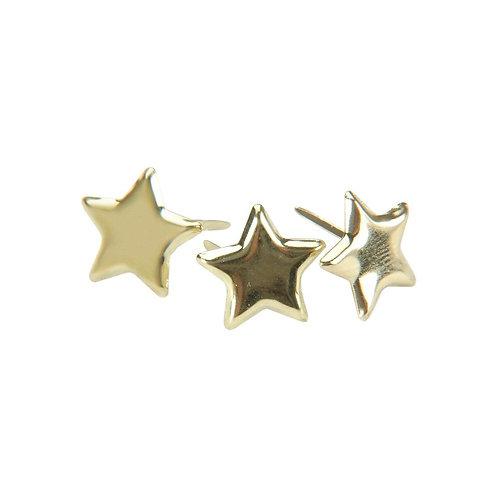 Metallic Star Brads