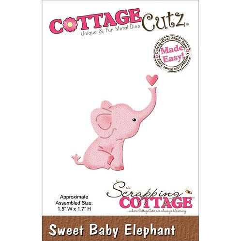 Sweet Baby Elephant Die