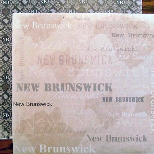Love Provinces of Canada Cardstock
