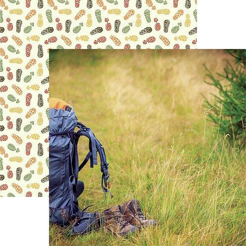 Take a Hike Backpacking Cardstock