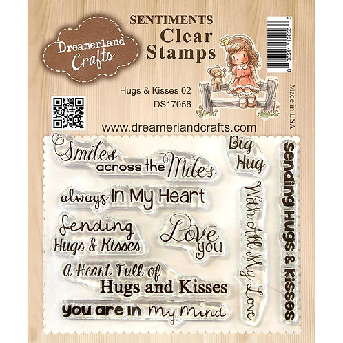 Hugs and Kisses 02 Clear Stamp Set