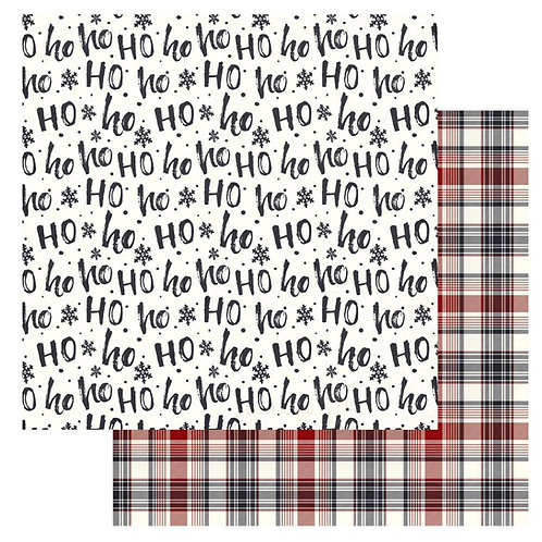 Christmas Cheer Ho Ho Ho Cardstock