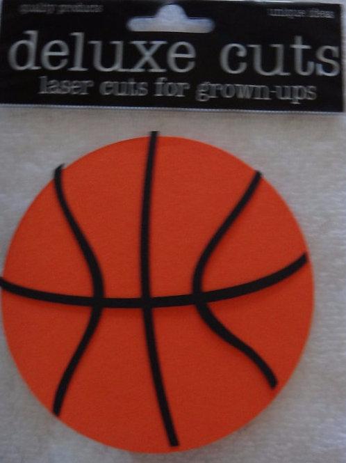 Mini Basketballs Die Cut Shapes