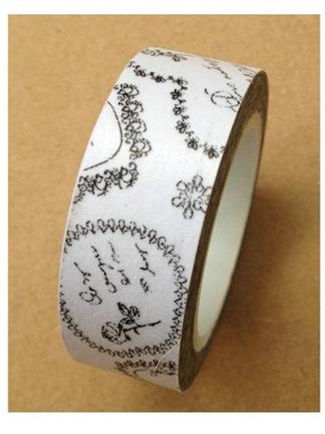 Hand Stamped Washi Tape
