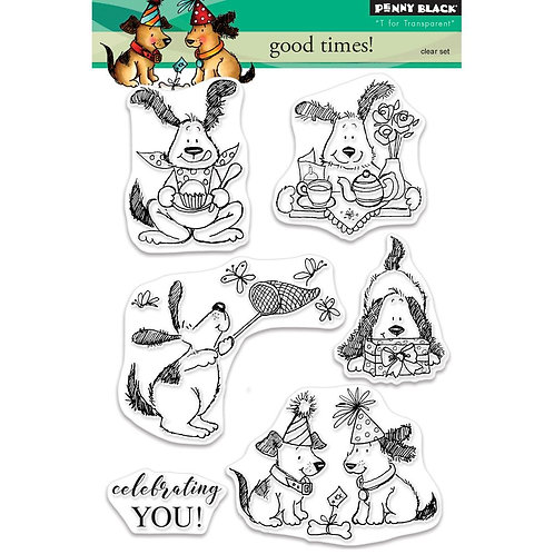 Good Times Clear Stamp Set