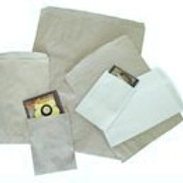 Flat Paper Bags, White
