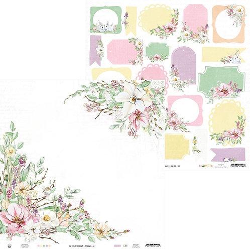 P13 Four Seasons Spring 06 Cardstock