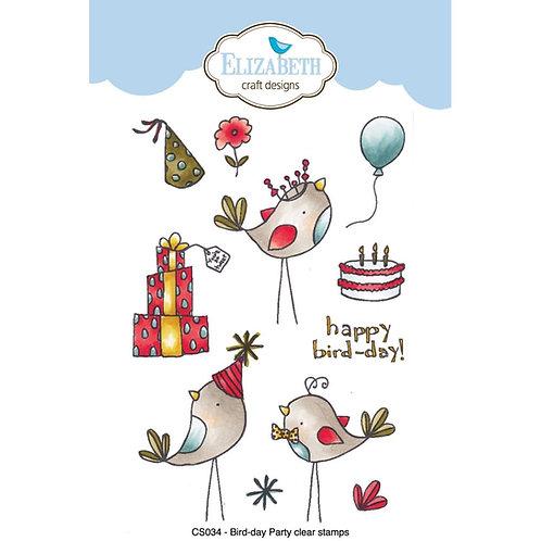 Bird Day Party Stamp Set