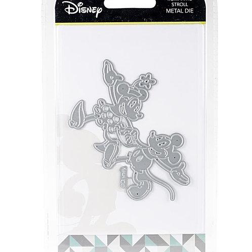 Mickey and Minnie Romantic Stroll Disney Die