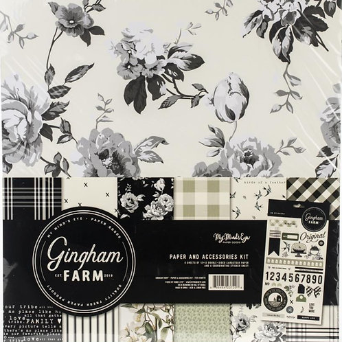 Gingham Farm Collection Kit