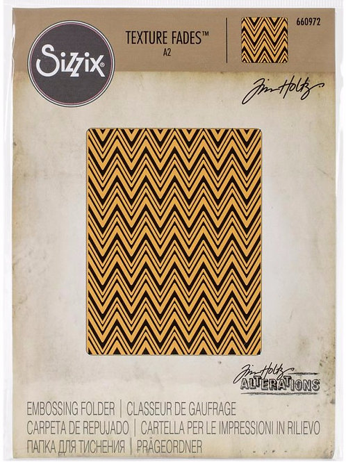 Zig Zag Embossing Folder