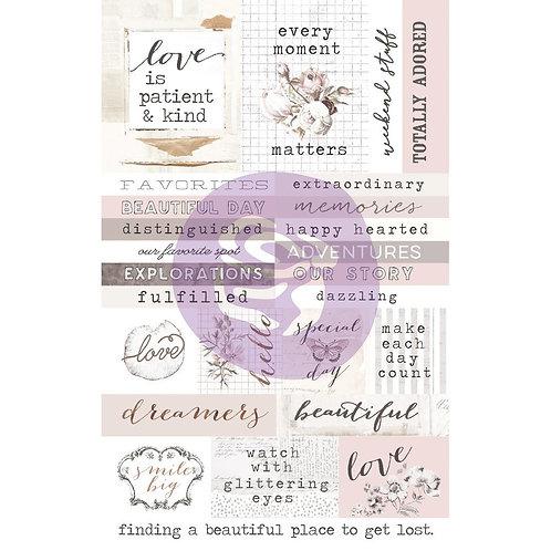 Prima Marketing Pretty Pale Sticker Sheet 1