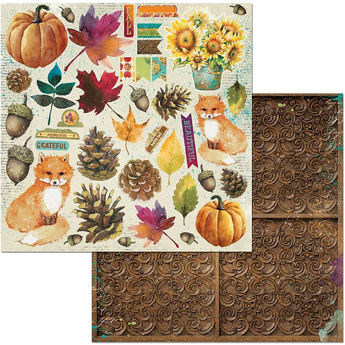 Dreams of Autumn Noteworthy Cardstock