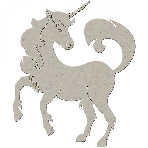 Unicorn Chipboard Embellishment