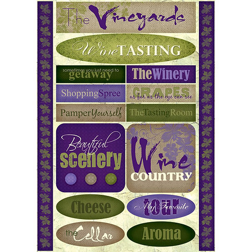 Wine Country Stickers