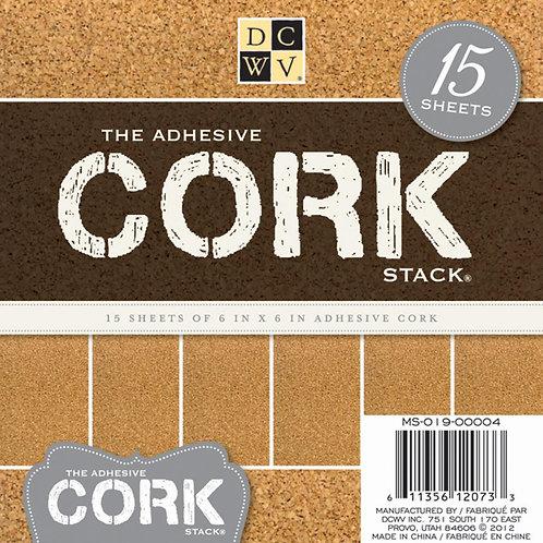 The Adhesive Cork Stack