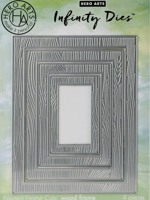 Nested Wood Frame Infinity Dies